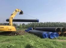 预制直埋供暖保温钢管施工