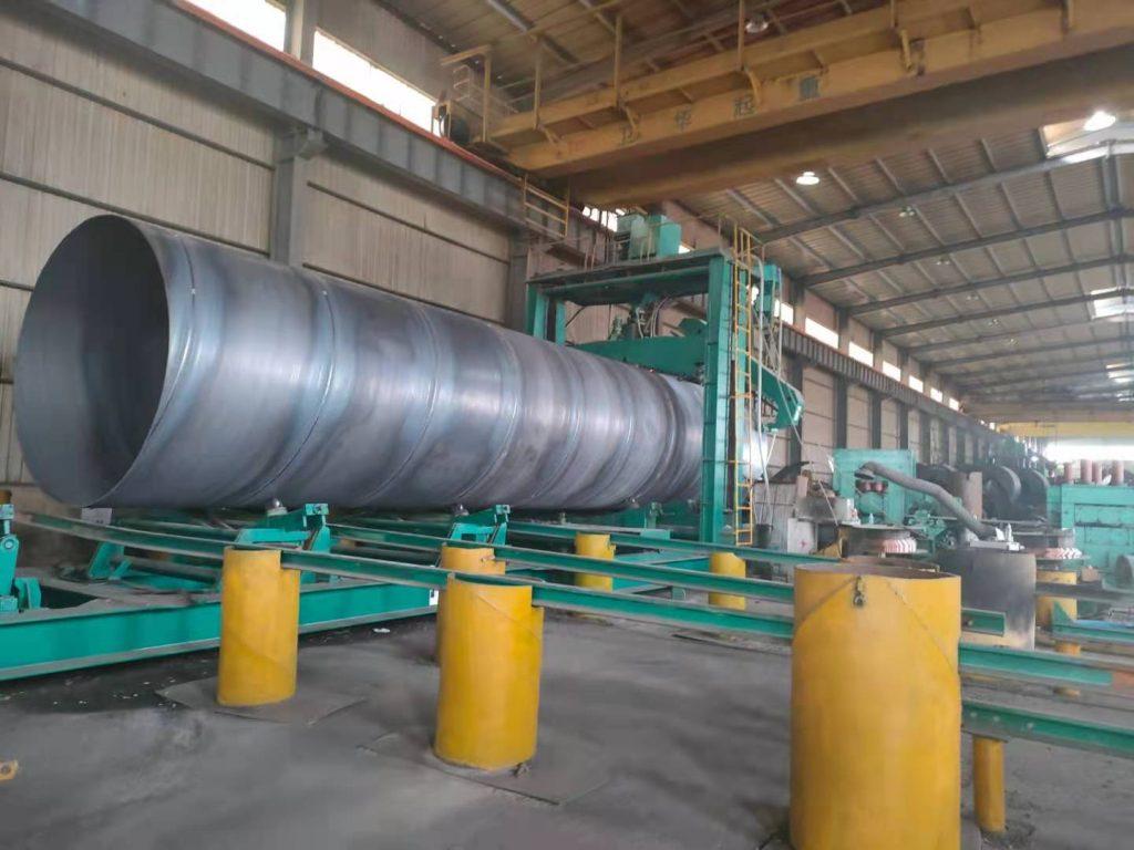 泌阳县碳钢螺旋钢管厂家